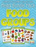 Food Groups Clipart Mega Bundle {Zip-A-Dee-Doo-Dah Designs}