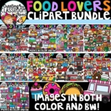**FLASH DEAL-Food Lovers Clipart Growing Bundle {Food Clipart}