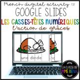 GOOGLE SLIDES - Casse-têtes numériques - Digital puzzles f