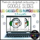 GOOGLE SLIDES - Casse-têtes numériques - l'hiver