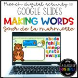 GOOGLE SLIDES - Making Words - Jour de la Marmotte