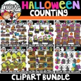**FLASH DEAL- Halloween Counting Clipart Growing Bundle {H