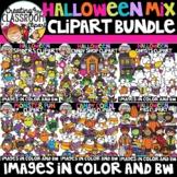 Halloween Mix Clipart Bundle {Halloween Clipart}