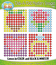 Holiday Dab-A-Dot Mystery Images Clipart Mega Bundle {Zip-A-Dee-Doo-Dah Designs}