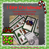 """I See Christmas!"" Interactive Activities for Speech Therapy"