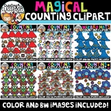 Magical Counting Clipart Bundle {Fairy tale Clipart}
