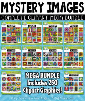 Mystery Images Clipart Mega Bundle {Zip-A-Dee-Doo-Dah Designs}