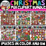 **FLASH DEAL- NEW Christmas Mix Clipart Growing Bundle {Ch