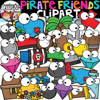 Pirates Clipart Bundle Pirate Clipart By Creating4 The Classroom