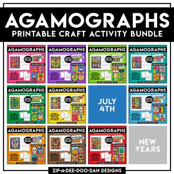 photograph relating to Printable Papercrafts titled FLASH Package deal Printable Holiday vacation Agamograph Paper Crafts Package ($36.00 Price)