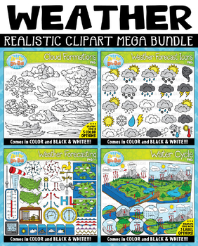 {FLASH DEAL} Realistic Weather & Water Cycle Mega Bundle ($20 VALUE)