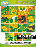 ST. PATRICK'S DAY Color By Code Clipart {Zip-A-Dee-Doo-Dah Designs}