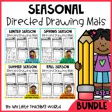 Seasonal Directed Drawing Mats Bundle