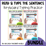 *FLASH DEAL* Seasonal Read & Type the Sentence Boom Cards