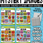 {FLASH DEAL} Seasons Mystery Images Clipart Mega Bundle — Includes 100 Graphics!