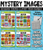 Seasons Mystery Images Clipart Mega Bundle {Zip-A-Dee-Doo-Dah Designs}