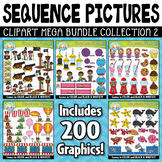 Sequence Action Pictures Clipart Mega Bundle Part 2 {Zip-A-Dee-Doo-Dah Designs}