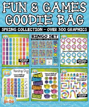 Spring Fun & Games Goodie Bag Bundle {Zip-A-Dee-Doo-Dah Designs}