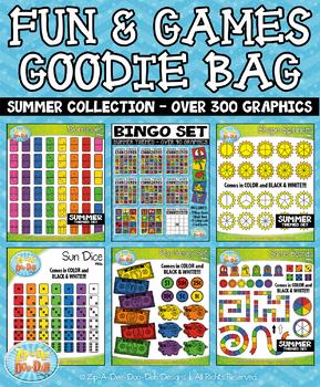 {FLASH DEAL} Summer Fun & Games Goodie Bag Mega Bundle — 3