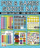 Summer Fun & Games Goodie Bag Bundle {Zip-A-Dee-Doo-Dah Designs}
