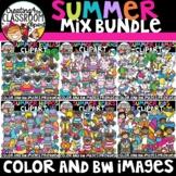 Summer Mix Clipart Growing Bundle {Summer Clipart}