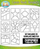 Summer Comic Book Strip Templates {Zip-A-Dee-Doo-Dah Designs}