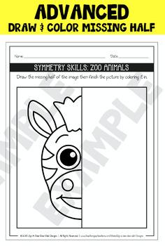 Symmetry Skill Activity Mega Bundle Part 2 {Zip-A-Dee-Doo-Dah Designs}