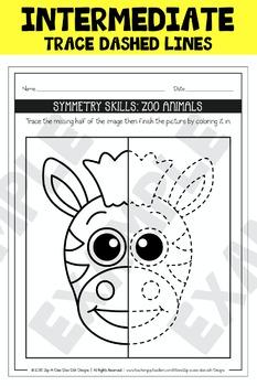 Symmetry Skill Activity Sets Mega Bundle Pack Part 1 {Zip-A-Dee-Doo-Dah Designs}