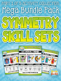 Symmetry Skill Activity Sets Mega Bundle Pack Part 1 {Zip-A-Dee-Doo-Dah Designs}