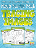 Tracing Images Clipart Mega Bundle Part 2 {Zip-A-Dee-Doo-Dah Designs}