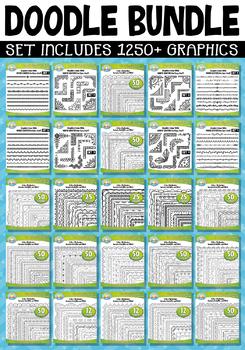 Ultimate Doodle Mega Bundle – Includes 1250+ Graphics!