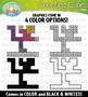 Winter Games Counting Cubes Clipart {Zip-A-Dee-Doo-Dah Designs}