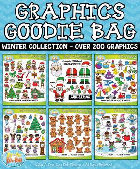 {FLASH DEAL} Winter Graphics Goodie Bag Mega Bundle — Over