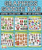 Winter Graphics Goodie Bag Bundle {Zip-A-Dee-Doo-Dah Designs}
