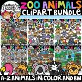 Zoo Animals Clipart Bundle {Zoo Clipart}