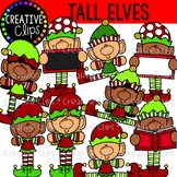 Tall Elves: Christmas Clipart {Creative Clips Clipart}