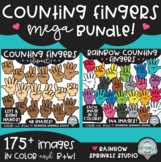 {FLASH FREEBIE #3!} Counting Fingers Clipart MEGA Bundle