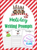 Narrative Holiday Writing Paper with Prompts