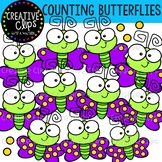 {FLASH FREEBIE} Counting Butterflies {Creative Clips Clipart}