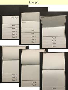 Editable Flip Book Templates ~ Personal and Commercial Use