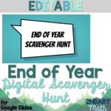 End of Year Digital Scavenger Hunt via Google Slides