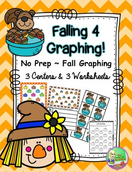 Fall Graphing ~ No Prep (3 Centers/3 Printables)