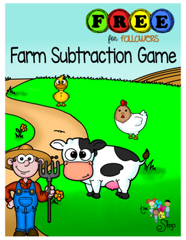 FREE! Farm Subtraction Game