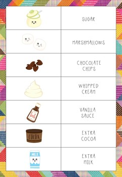 Hot Cocoa Stand - Props for Pretend Play