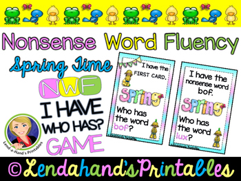 I Have Who Has Game by Ms. Lendahand (Spring Has Sprung Theme)