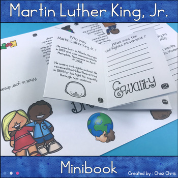 Martin Luther King, Jr - I have a Dream: a MiniBook