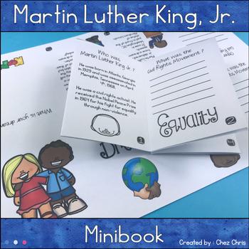 Martin Luther King, Jr MiniBook