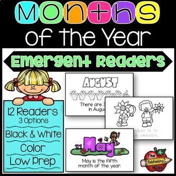 Months of the Year Readers