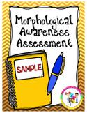 FREE!!! Morphological Awareness Assessment: K-1