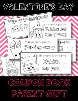 Parent Valentine's Day Gift Coupon Book